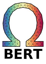 Meshing the Omega aka  BERT logo — pyGIMLi - Geophysical Inversion